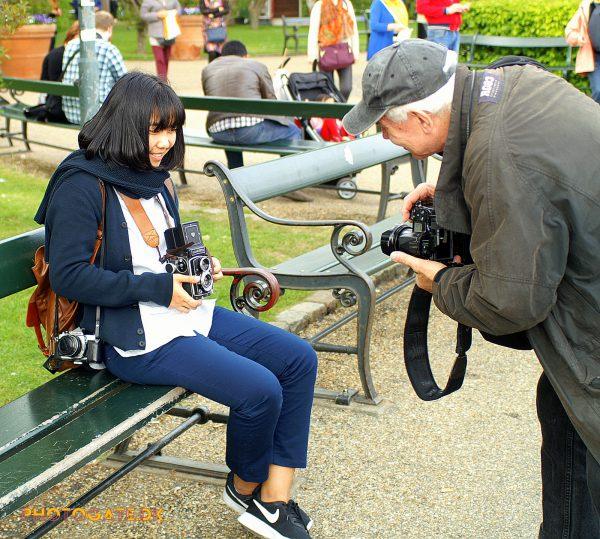 pigen og fotografen