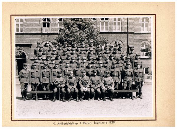 Danske Soldater billeder 1870-1939