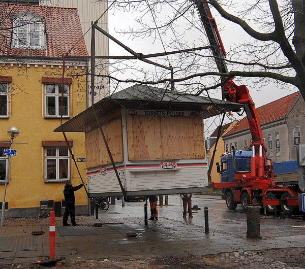Farvel Til Torvets Pølser Nykøbing F.