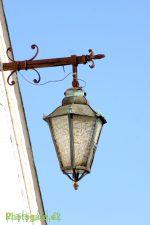 Gammel lampe